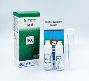 NT Labs Aquarium Nitrate Test Lab For Tropical Coldwater Fish Tank NO3 Test Kit