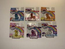 My Little Pony Mini Figurines MLP Set Of 6