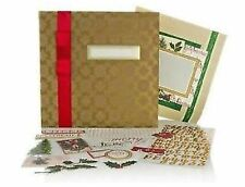 """Anna Griffin 12""""x12"""" Holiday Traditions Christmas Instant Scrapbook Album Kit"""