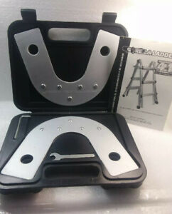 Gorilla Ladders 4 In 1 Static Hinge Bracket Set With Storage Case And Wrenches