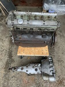 Original Jaguar XK150 3.4 Engine and Manual Gearbox.