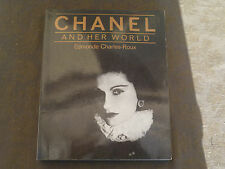 EDMONDE CHARLES ROUX CHANEL AND HER WORLD ENGLISH BOOK