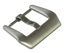 24mm Panatime Brushed Pre-v Buckle - Spring Bar Attachment For Panerai