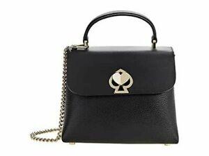 🌸 Kate Spade Romy Mini Top Handle Satchel Crossbody Bag Purse Black Handbag
