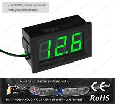 Mini Portable Green LED DC4.5- 30V Car Boat Truck Voltage Meter Voltmeter Tester