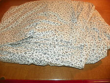 RALPH LAUREN-KING SHEET SET-4 PCS.-BLACK & WHITE FLORAL-100% COTTON-SUPER SHAPE