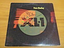 "Pete Shelley Signed XL-1 33 rpm Vinyl 12"" Record JSA/PSA Guarantee"