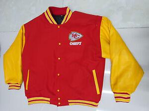 Kansas City Chiefs  beautiful Varsity jacket small medium  Large XL 2XL 3XL