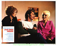 FIVE EASY PIECES LOBBY CARD size 11x14 MOVIE POSTER 4 Cards R1973 JACK NICHOLSON