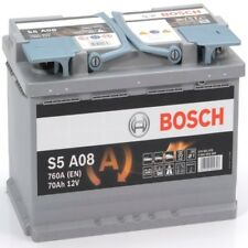 BOSCH 570901076 S5A08 611925 096 70Ah 760 CCA Car Battery