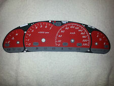VT VX SS Holden Commodore Police Red Dial Dash Fascia also suits VU Ute & HSV
