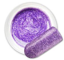 Anser Purple 070 GEL UV E LED GLITTER COLORATO RICOSTRUZIONE UNGHIE NAIL ART