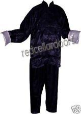 New Silk Chinese Pajamas Men Womens Navy Blue Lounge Pants Top 3X Large XXXL New