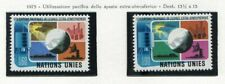 19534) United Nations (Geneve) 1975 MNH Peaceful Use Of Space