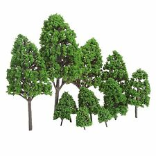 12X Assorted O Scale 1:50 Model Tree Train Park Railway Scenery Landscape Layout