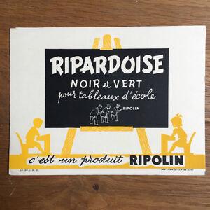 Buvard RIPOLIN Peinture Ripardoise Blotter Löscher