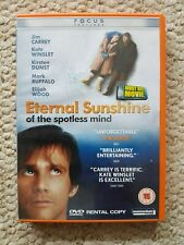 Eternal Sunshine Of The Spotless Mind - Jim Carry - Dvd - Good Condition