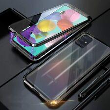 360° Magnet Case Cover Für Samsung Galaxy A5 / A71 Handy SchutzHülle Glas Tasche