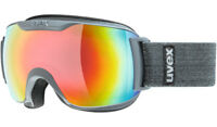 Uvex Downhill 2000 S FM grey goggles Skibrille Snowboardbrille Brille Ski J18