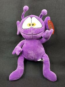 "Purple Alien 13"" Plush Stuffed Animal Toy"