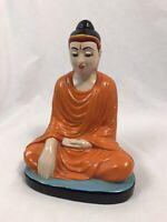 Vintage MG WIN Ceramic Buddha Statue Figurine
