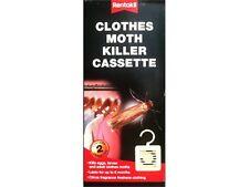 Rentokil Clothes Cupboard Hanging Moth Killer Cassette - Pack of 2