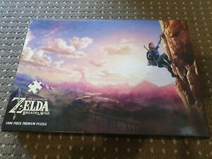 USAOPOLY The Legend of Zelda Breath of The Wild Scaling Hyrule Puzzle (1000 Pc)