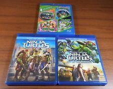 Teenage Mutant Ninja Turtles 1 2 3 4 5 6 (Blu Ray) Collection Set Lot