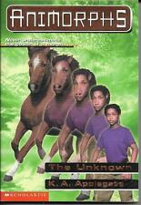 Animorphs #14 : The Unknown by K. A. Applegate (1998)