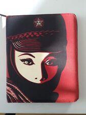 Shepard Fairey Obey Giant X Incase iPad Canvas Potfolio Case Apple 3rd 4th Gen