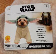 Disney Star Wars The Child Small Dog Costume Mandalorian Baby Yoda 2-Pc
