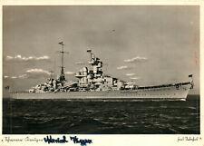 Foto, Wk2, Ak, Schwerer Kreuzer Admiral Hipper (N)21035