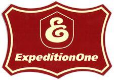 Expedition One - Emblem Skateboard Sticker skate snow surf board bmx guitar van