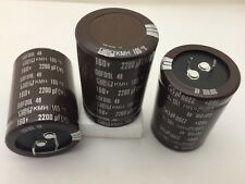 (3 pcs) KMH160VN222M35X50T2 – UCC, 2200uF 160v 105c, Snap-In Capacitor