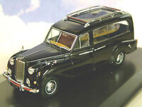 SUPERB OXFORD DIECAST 1/43 AUSTIN PRINCESS FUNERAL HEARSE IN BLACK APH001