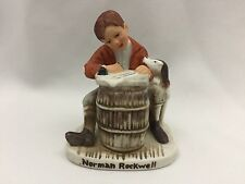 "Vintage 1979 Norman Rockwell Figurine ""The Love Letter""-Jan 17 1920-Nr-206-3 In."