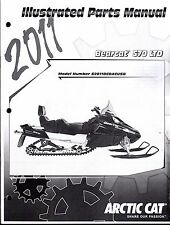2011 ARCTIC CAT SNOWMOBILE BEARCAT 570 LTD PARTS MANUAL P/N 2258-962  (747)