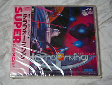 NEC PC ENGINE SCD TERRA FORMING BRAND NEW shooter Japan SCD RIGHT STUFF Syd Mead