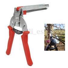 Red Hog Ring Gun Heavy Duty M Nail Plier Fencling Fence Wire Ringer Gabion Mesh