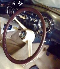 LEATHER STEERING WHEEL COVER / GLOVE VAUXHALL WYVERN VELOX CRESTA  L E  PA