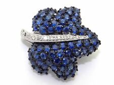 Sapphire Gemstone Fine Brooches and Pins