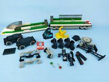 vintage Lego 9V 4511 4559 Eisenbahn Train Konvolut 2x Motor viele Teile