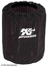 E-4710DK Filtro Aria K&N Wrap drycharger Wrap; Nero, Custom