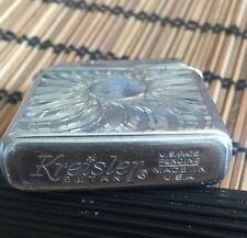 Vintage Kreisler Butane  Silver Tone -us Pats.pending -made In USA