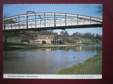 POSTCARD SHROPSHIRE SHREWSBURY - KINGSLAND BRIDGE