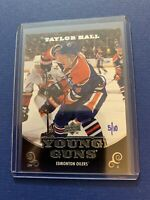 2010-11 Upper Deck Young Guns Auto 5/10 #219 Taylor Hall Vary Rare !🔥