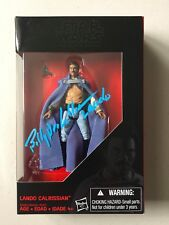 Star Wars Exclusive 3 3/4 LANDO CALRISSIAN Signed BILLY DEE WILLIAMS Autograph