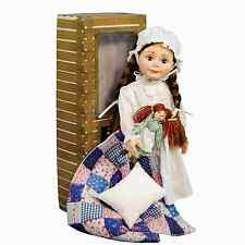 Little House on the Prairie® 18 In Laura Ingalls Doll,Rag Doll, Bed Box,Bedding