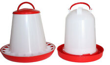 2 Piece Set - Automatic Feeder (6 kg) and Drinker (6 L)