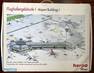 Herpa Wings 519687, Airport Buildings Construction kit 1:500, SOLD OUT